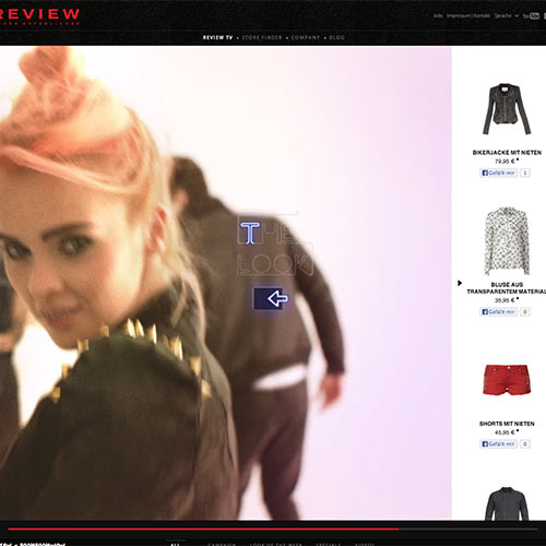 Review Fashion interactive Videos